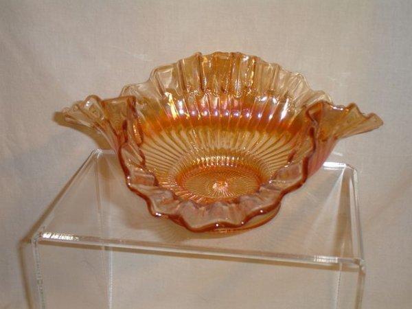 230: Jeanette Glass Floragold Swirl Bowl
