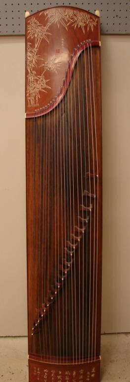 18: Gu Zheng Chinese harp