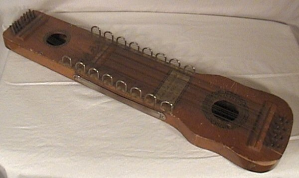 92: Ukelin Musical Instrument, Hoboken, NJ, Early 1900'
