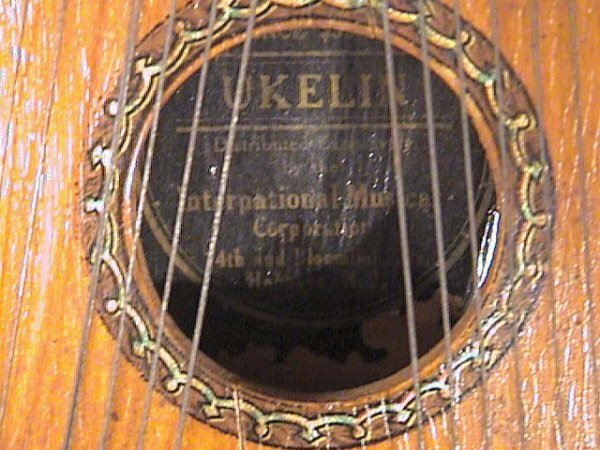 92: Ukelin Musical Instrument, Hoboken, NJ, Early 1900' - 3