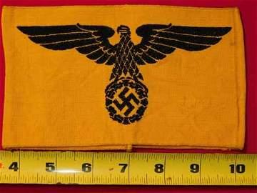 Nazi armband with eagle and swastika