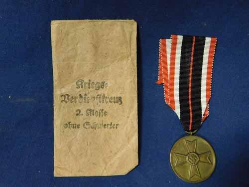 Nazi 1939 Service medal