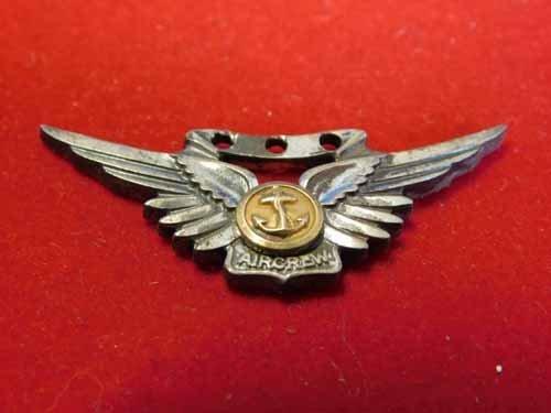 Sweetheart pin - Sterling silver wings