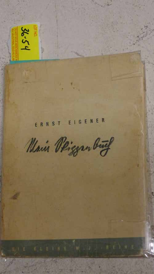 Book - Mein Skizzenbuch by Ernst Eigener