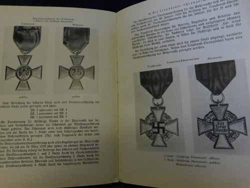 Book - Orden und Ehrenzeichen im dritten Reich - 4
