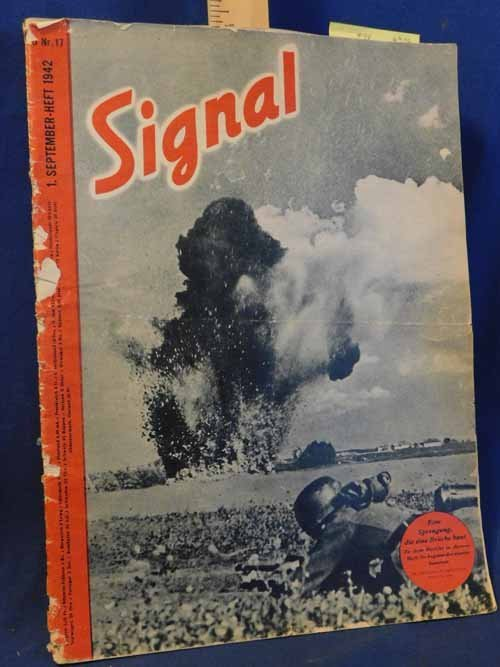 Magazine - Signal a WWII German Language magazine