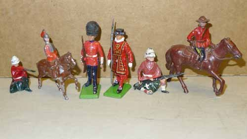 Collection of 29 lead toy soldiers - 3