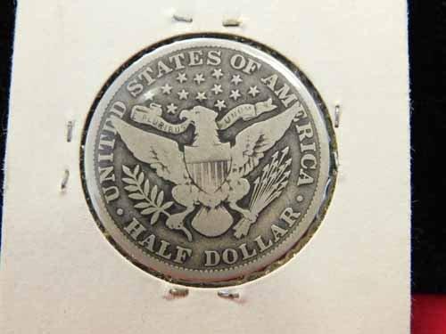 1912 Barber Half Dollar - 2