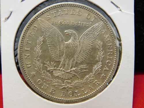 1881-S Morgan Silver Dollar AU - 2