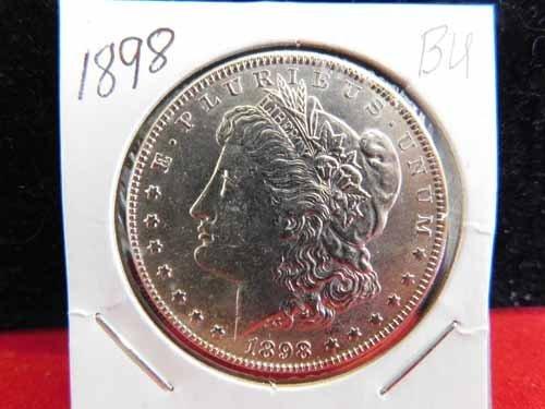 1898 Morgan Silver Dollar BU