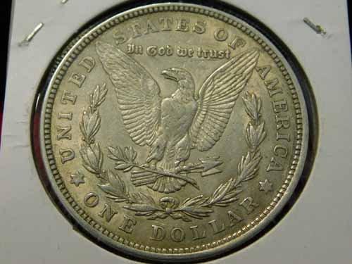 1921 Morgan Silver Dollar EF - 2