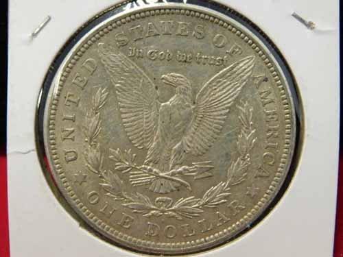 1921-D Morgan Silver Dollar EF - 2