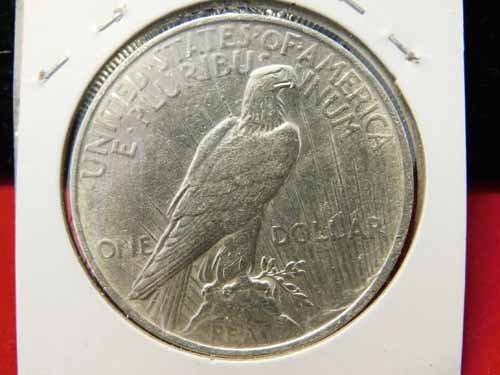 1923 Peace Silver Dollar UNC - 2