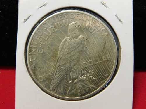 1925 Peace Silver Dollar AU - 2