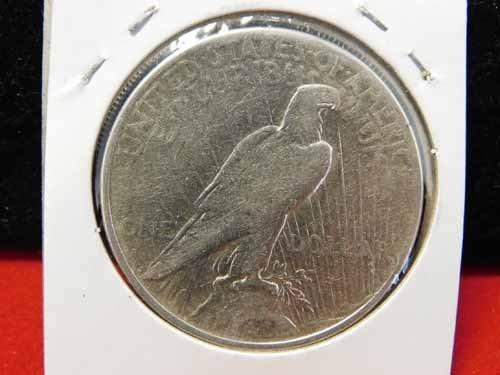 1926-S Peace Silver Dollar EF - 2