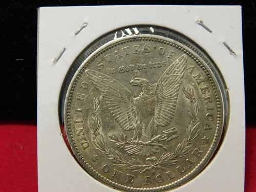 1890-S Morgan Silver Dollar AU - 2