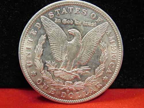 1883-O Morgan Silver Dollar AU - 2