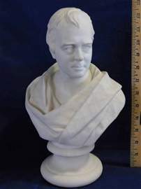 Unmarked Parian Bust