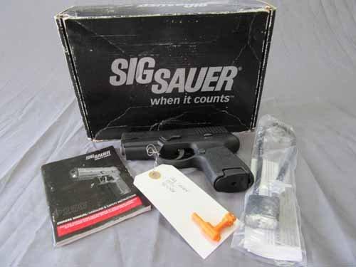 Sig Sauer P250 Pistol 40 cal