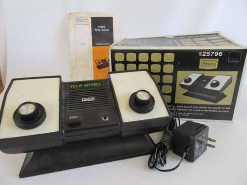 Atari Sears Tele-Games Electronic Games Pong