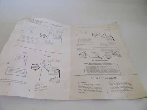 Atari Sears Tele-Games Electronic Games Pong - 5