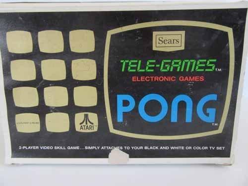 Atari Sears Tele-Games Electronic Games Pong - 7