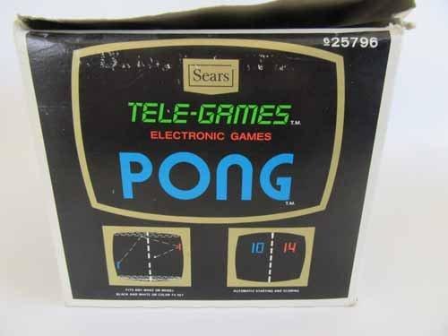 Atari Sears Tele-Games Electronic Games Pong - 8