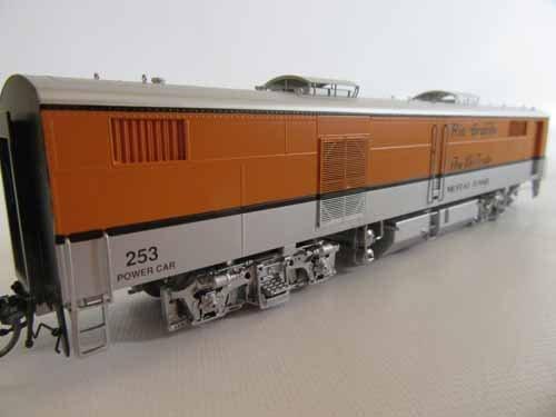 Brass Model Train by Cascade Models