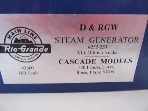 Brass Model Train by Cascade Models - 6