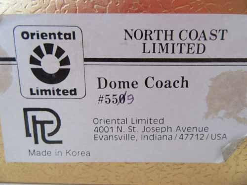 Oriental Limited Brass Train - 7