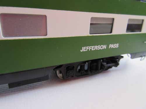 Oriental Limited Brass Train - 6