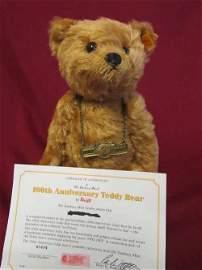 100th Anniversary Teddy Bear by Steiff