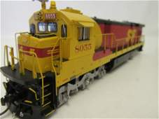 Brass Train by Overland Models, Inc. ATSF C30-7