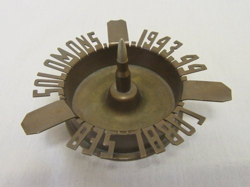 WWII Trench Art Ash Tray