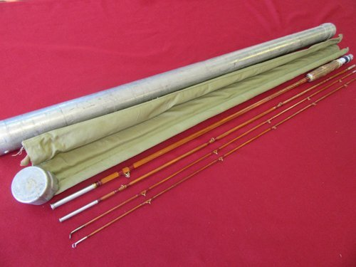 Moutague Red Wing Bamboo Fly Rod