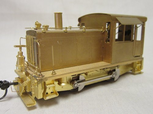 Sn3 Scale Brass Model Train from PBL Milestone Models