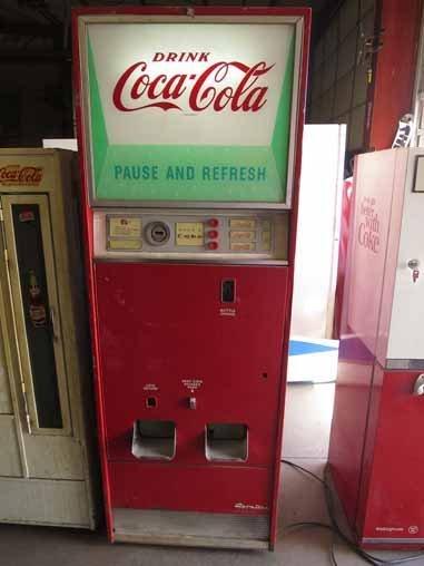 Vintage Coca-Cola Soda Pop Bottle Vending Machine