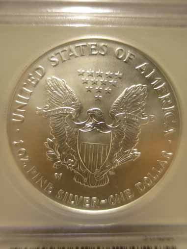 2007-W Silver Eagle ICG SP70 - 2