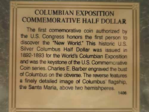 8 Commemorative Half dollars, 1893 Colombian expo, (4) - 4