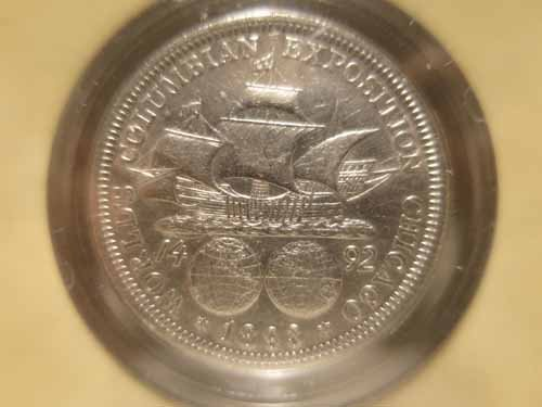 8 Commemorative Half dollars, 1893 Colombian expo, (4) - 5