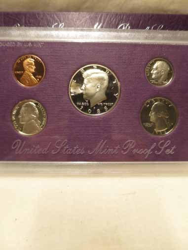 1974 Proof set, 1981 Philadelphia and Denver Mint set - 2