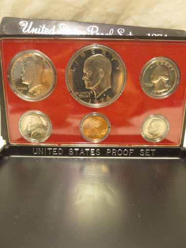 1974 Proof set, 1981 Philadelphia and Denver Mint set - 3