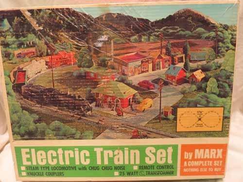 Electric Train Set by Marx 4353