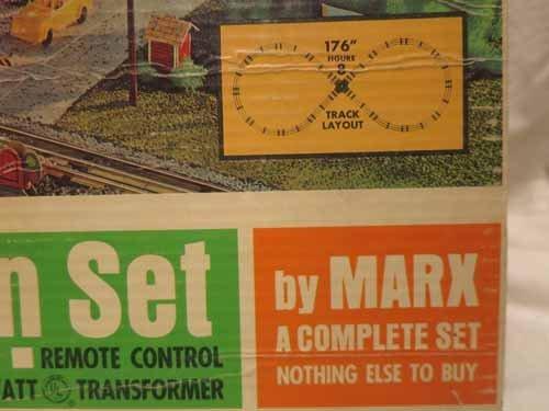 Electric Train Set by Marx 4353 - 2