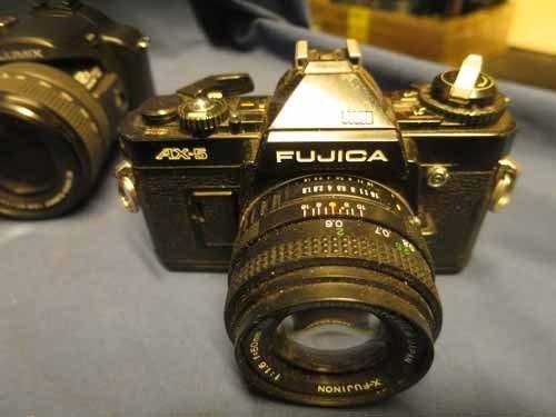 6 Cameras (4 Nikons, 1 Lumix, 1 Fujica) - 2