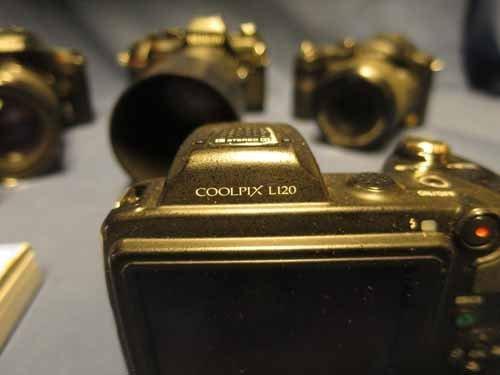 6 Cameras (4 Nikons, 1 Lumix, 1 Fujica) - 6
