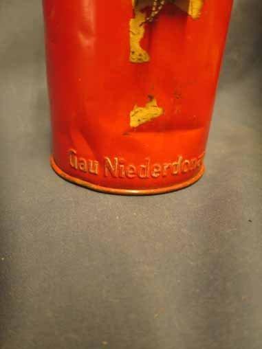 """German WWII era """"Gau Niederdonau"""" Donation Canister. - 2"""