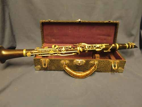 Clarinet made in Paris, France