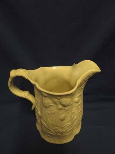 Fenton Pottery: Daisy Pattern Pitcher (Bennington, - 2