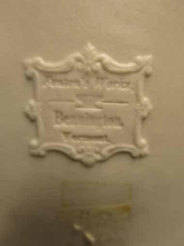 Fenton Pottery: Daisy Pattern Pitcher (Bennington, - 4